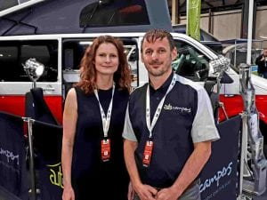 Mark and Alicia of Highland Auto Campers