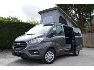 Auto-camper classic campervan external