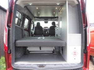 Highland Auto Campers boot space