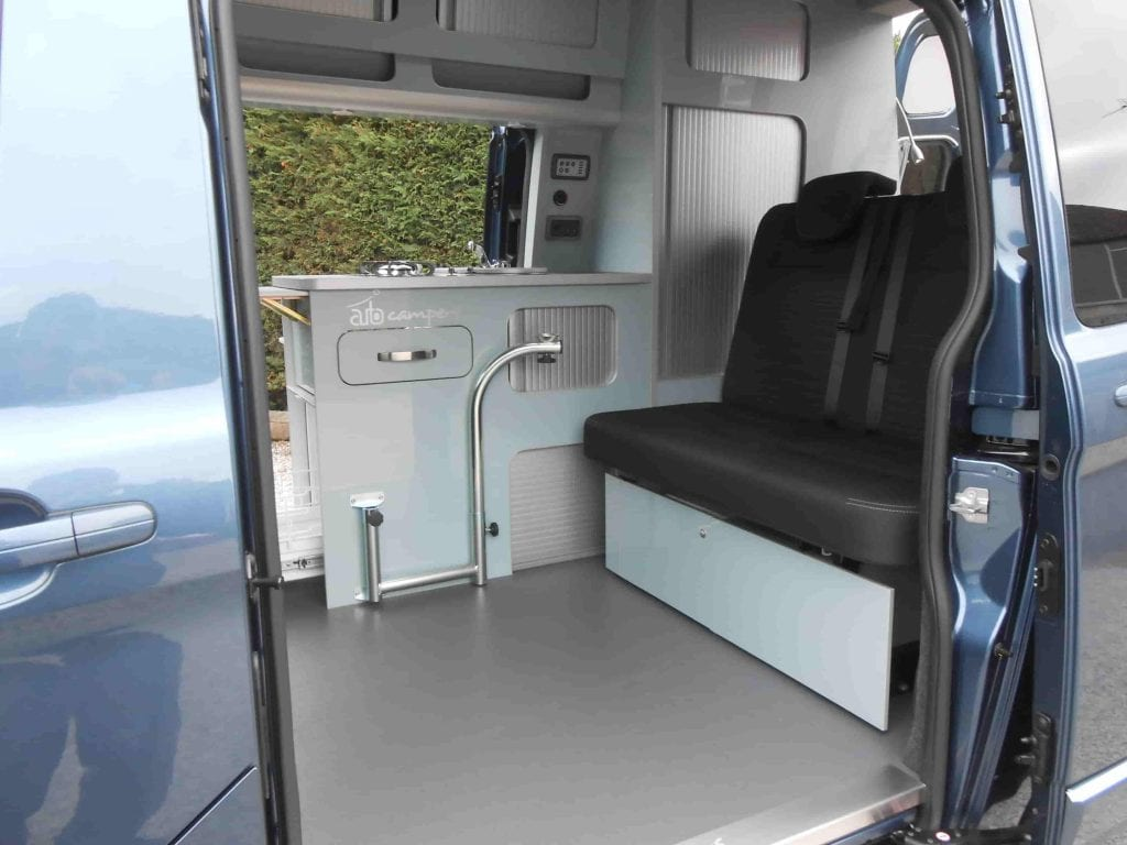 Highland Auto Campers interior