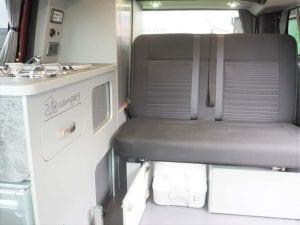 Highland Auto Campers interior portaloo