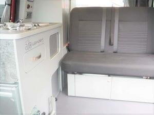 Highland Auto Campers interior seat