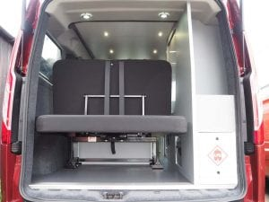 Highland Auto Campers rear storage