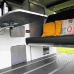 Highland Auto Campers removable bed 1