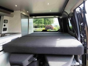 Highland Auto Campers removable bed 3
