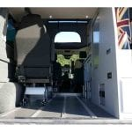 Highland Auto Campers removable bed 8