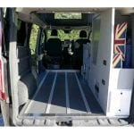 Highland Auto Campers removable bed 9