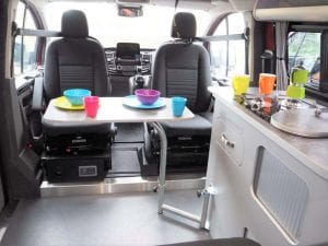 Highland Auto Campers seating