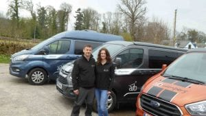 Highland Auto Campers Owners Alicia and Mark