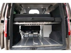 Higland auto Campers Day van removable bed 5