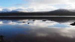 Loch Morlich in the Cairngorm National Park