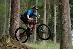 Mountain Biking in The Forest of Scotland