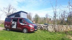 Ruby the 4 berth campervan hire
