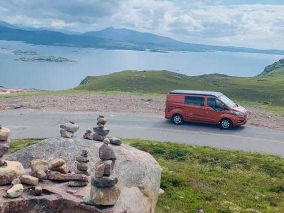 Scottish islands in a hire campervan