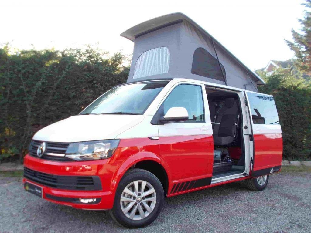 Volkswagen Transporter T6 Campervan 1