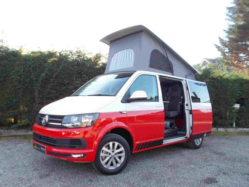 Highland Auto campers. Volkswagen Transporter campervan