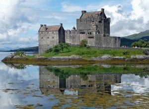 eilean donan castle, castle, eilean donan