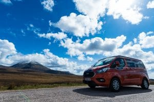Campervan hire gift vouchers at Highland Auto Campers