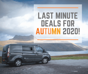 Last Minute Campervan Hire Deals for Autumn 2020