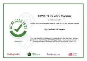 Good To Go Certificate 2021