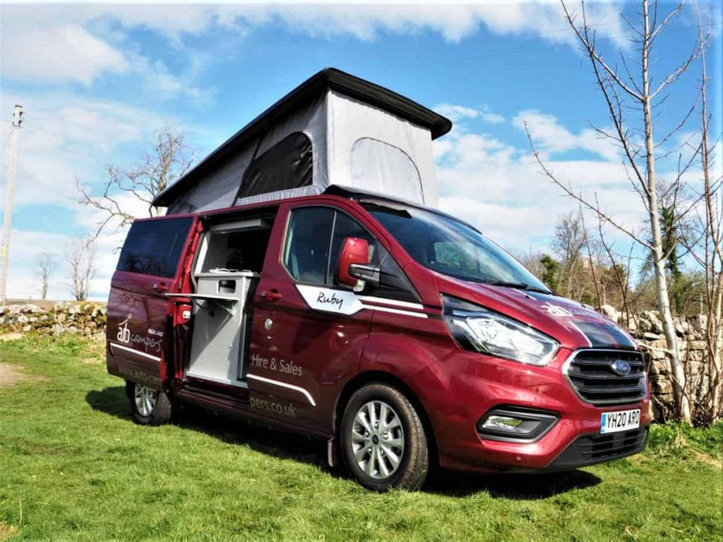 Ruby the 4 berth campervan