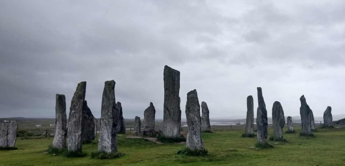 Callanish Stone Circle on the Isle of Lewis