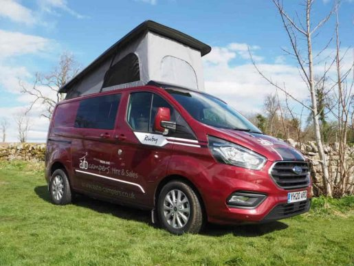 Ruby the 4 berth campervan